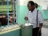 Julius sampling tea | Kenya